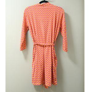 Vera Bradley Intimates & Sleepwear - Vera Brandly Pink & Orange Chevron Robe S/M
